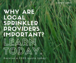 Sprinkler Service Providers In Overland Park Aspen Lawn